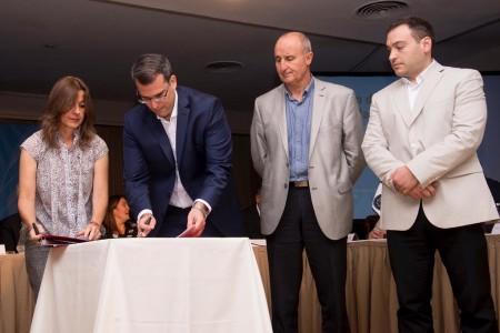 San Juan firmó convenios en materia de seguridad con la Nación
