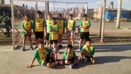 Destacada participación de la escuela de handball de Peñaflor
