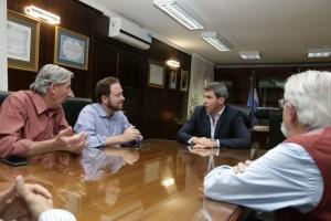 Uñac recibió al subsecretario de Energías Renovables