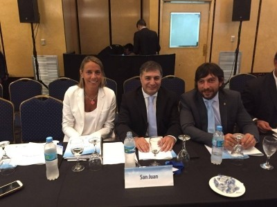 Funcionarios provinciales presentes en el Consejo Federal del Trabajo