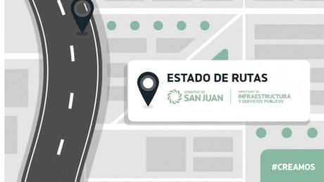 Estado de rutas provinciales 26/4 - 8hs.