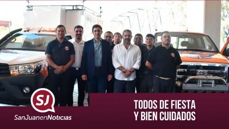 Todos de fiesta y bien cuidados | #SanJuanEnNoticias