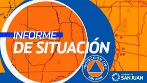 Sismo en San Juan - Informe preliminar de situación - 04/11/19