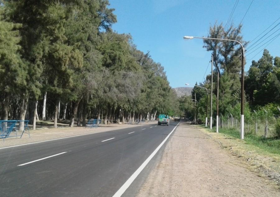 DPV: trabajos de mantenimiento de la Red Vial Provincial en el Pinar