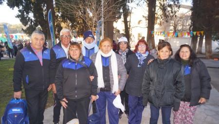 Los adultos mayores se preparan para los Juegos Evita en Bariloche