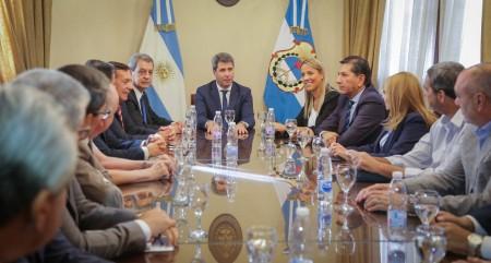 Sergio Uñac convocó a reunión a su nuevo Gabinete