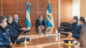 Presentaron la nueva Plana Mayor de la Policía de San Juan