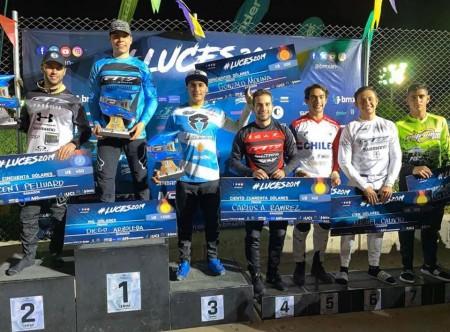 Segundo y tercer puesto de Chalo en Colombia