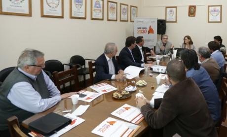 Plan Estratégico San Juan 2030: Reunión con partidos políticos