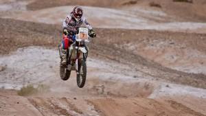 El South American Rally Race corrió su primera etapa en San Juan