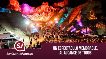 Un espectáculo memorable, al alcance de todos | #SanJuanEnNoticias