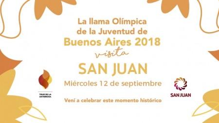 El Tour de la Antorcha llega el 12 de septiembre a San Juan