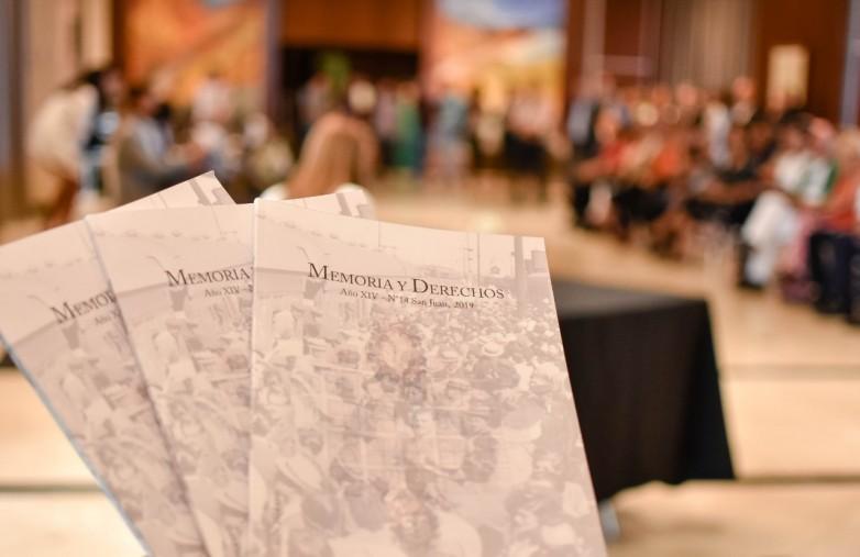 Presentaron Memoria y Derechos, revista del Archivo Provincial