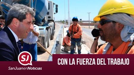 Con la fuerza del trabajo  | #SanJuanEnNoticias