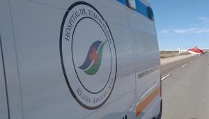 Un panadero iglesiano salvó su brazo por el protocolo de vuelos sanitarios
