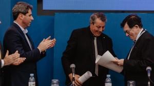 La UNSJ distinguió a Tulio Del Bono con el Doctorado Honoris Causa