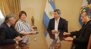 Uñac recibió a integrantes del Consejo Regional de Coquimbo