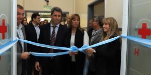 Uñac inauguró el Servicio de Cuidados Críticos Cardiovasculares del Marcial Quiroga
