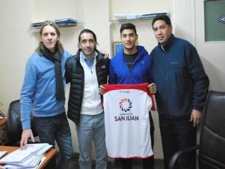 Gonzalo Molina visitó la Secretaría de Deportes