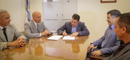 La Secretaría General de la Gobernación firmó convenio con el Foro de Abogados