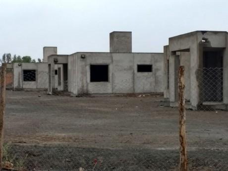El Hospital San Roque está en un 20% de su construcción