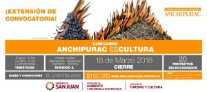 Anchipurac EsCultura - Extensión de convocatoria