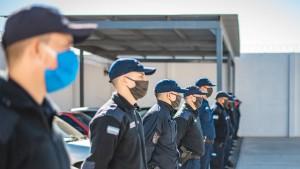 Ascendieron a 1056 efectivos policiales