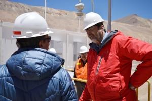 El ministro de Minería recorrió las instalaciones de Veladero
