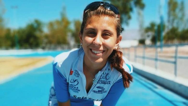 Fernanda Illanes subió al podio en la primera fecha del Nacional de Patín Carrera