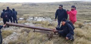 Malvinas: los excombatientes recorrieron escenarios de la guerra