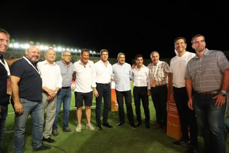"""Uñac, en el arranque de la Copa de Verano: """"El deporte vive en cada uno de los sanjuaninos"""""""
