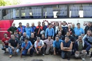 Ex combatientes de Malvinas emprendieron su viaje