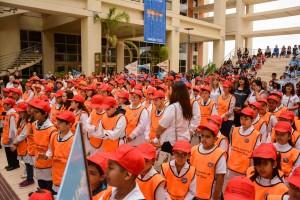 Más de 2000 chicos de brigadas escolares renovaron su promesa de seguridad vial