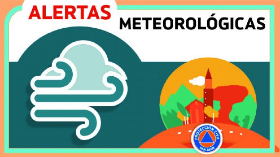 Alerta Meteorológico Nº 44 por Viento SUR | Viernes 17/11/2017