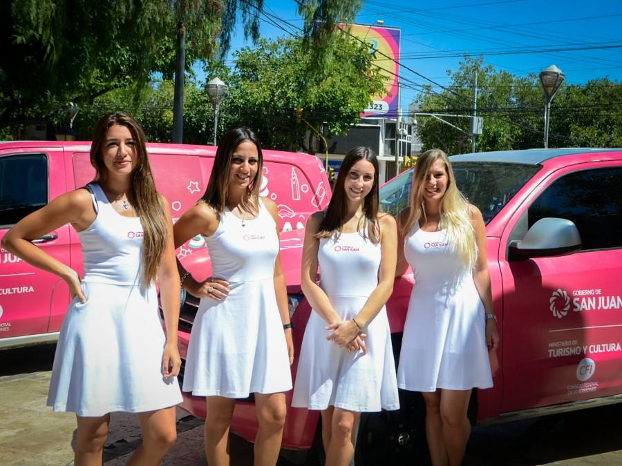 San Juan sale de caravana para promocionar sus atractivos