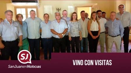Vino con visitas | #SanJuanEnNoticias