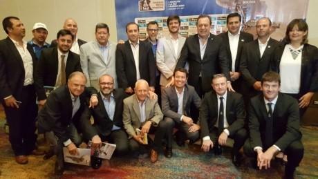 San Juan presente en el lanzamiento oficial del Dakar 2017