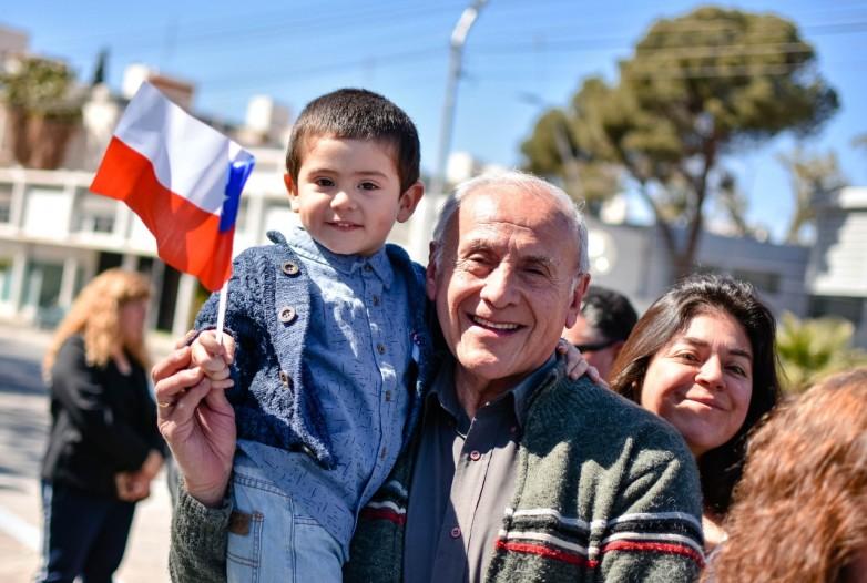 Emotivo acto en el 209º aniversario de la Primera Junta de Chile