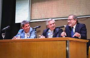 Uñac y Fernández cerraron el coloquio de integración de la industria nacional