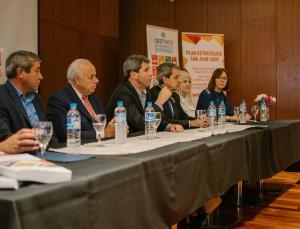 Angaco, 25 de Mayo, Sarmiento, Ullum y Zonda definieron su estrategia departamental hacia el 2030