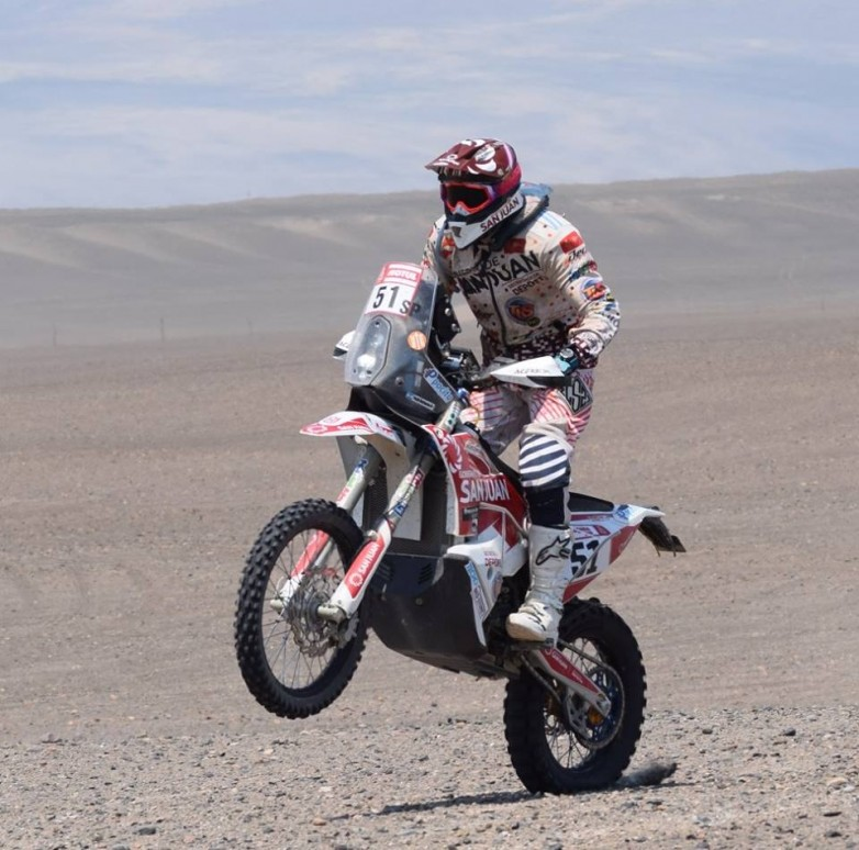 El Puchi corre la última fecha del CANAV y se prepara para la South American Rally Race