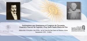 Homenaje a sanjuaninos que formaron parte del Congreso de Tucumán