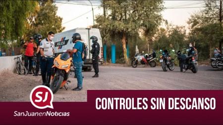 Controles sin descanso | #SanJuanEnNoticias