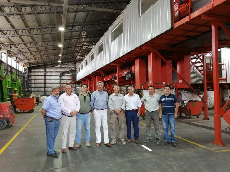 Autoridades chilenas visitaron la provincia interesadas en replicar el Programa Estratégico de Residuos