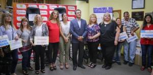La Caja de Acción Social entregó premios de cupones no premiados y cruzadas solidarias
