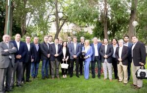 Uñac recibió a integrantes de Asociación Civil de Estudios Populares y Fundación Konrad Adenauer