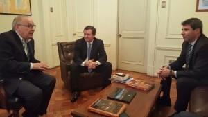 El primer mandatario local se reunió con el vicepresidente de ENAMI