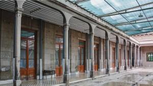 Avanzan cuidadosamente las obras de restauración en la Escuela Normal Sarmiento