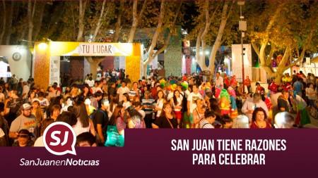 San Juan tiene razones para festejar | #SanJuanEnNoticias