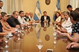 Organizaciones civiles de la Federación Sanjuanina por la Equidad fueron recibidas por Uñac